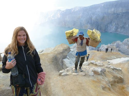 Transport to Ijen Crater