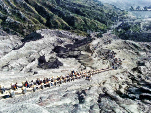 blueflame tour bromo crater
